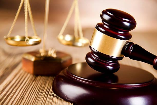압살했다 의사봉 barrister, 행정학 컨셉입니다, 법적요건 시스템 - 나무망치 뉴스 사진 이미지
