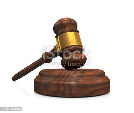 Wooden gavel, Judge Hammer