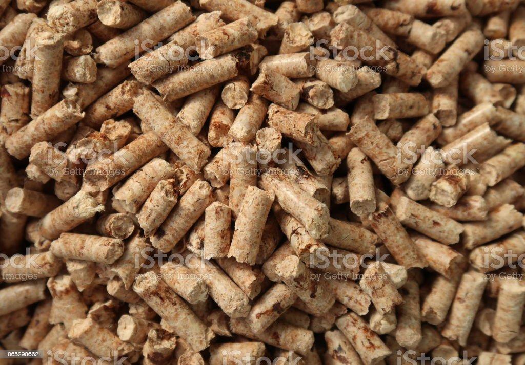 Gránulos de madera - foto de stock