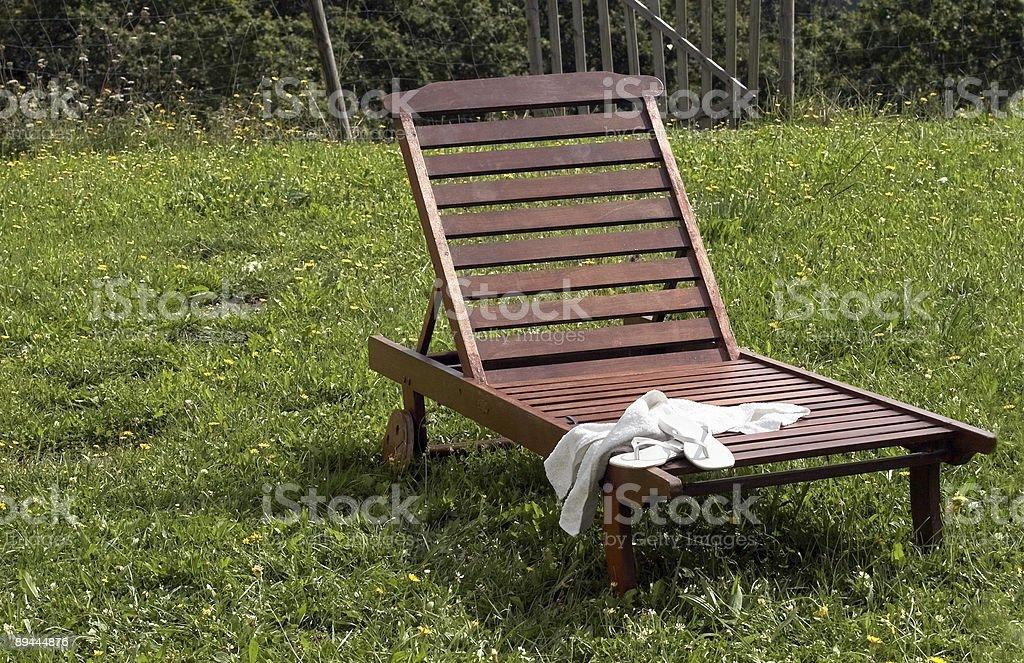 Hamac en bois photo libre de droits