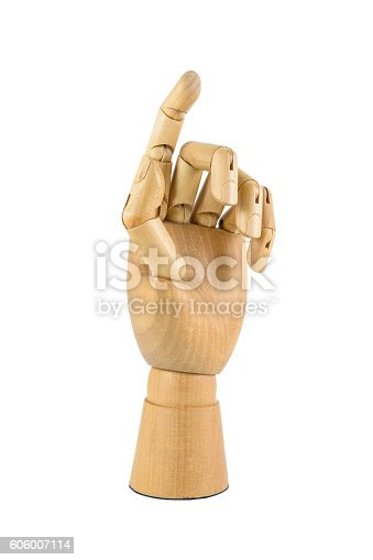 istock wooden hand 606007114