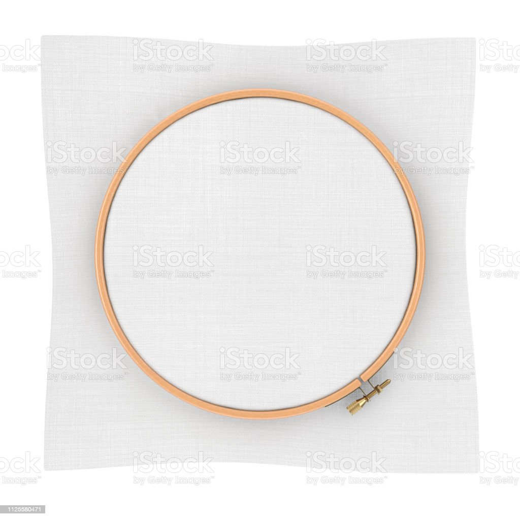 Wooden Hoop for cross stitch. A Tambour Frame for embroidery and...