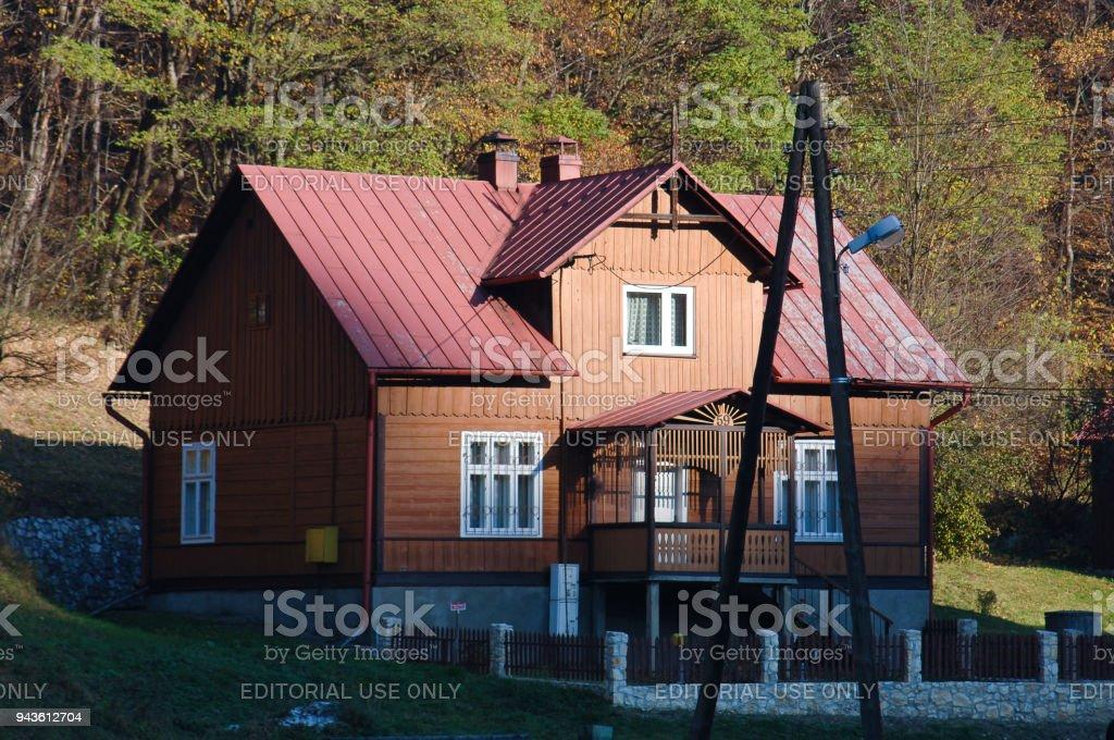 Holzhaus In Ojcow Polen Stockfoto Und Mehr Bilder Von Ast