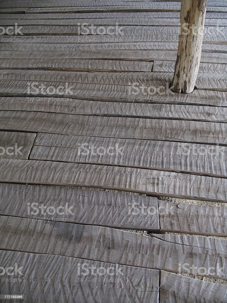 Wooden house #4 royalty-free stock photo