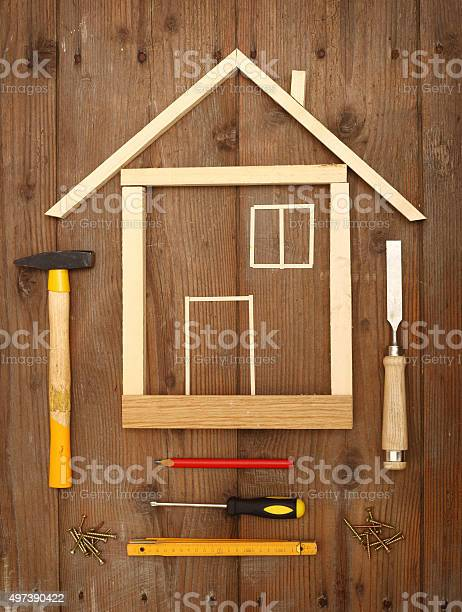 Wooden House Stock Photo - Download Image Now