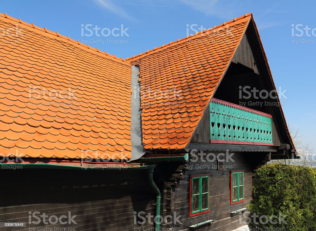 Wooden house – Foto