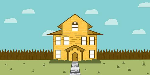 Holz-Haus-Immobilien zum Verkauf – Foto