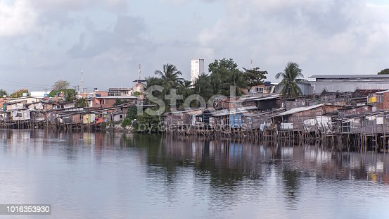 Recife, Pernambuco, Brazil:Known as stilts ( palafitas ), these dwellings reflect the lack of urban planning and poor housing policies in Recife and Brazil.