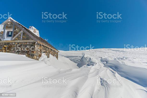 Wooden hut in snowy landscape picture id626915602?b=1&k=6&m=626915602&s=612x612&h=jbayy2jeiqhy55toexzzw0erh n 9ttvddexfybzk7m=
