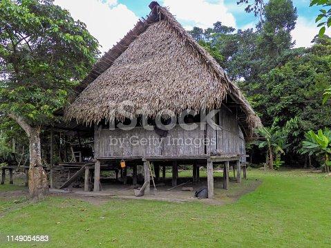 Wooden hut in Wildlife Reserve