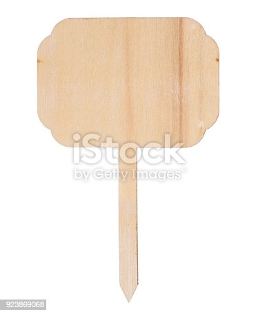 997496254 istock photo Wooden information label sign 923869068