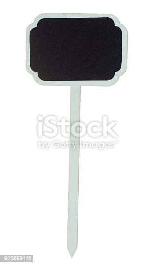 923869178 istock photo Wooden information label sign 923869128