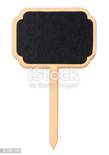 923869178 istock photo Wooden information label sign 924861066