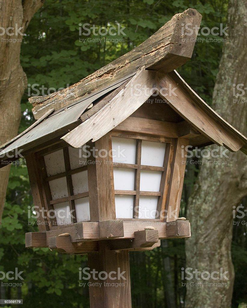 Wooden Japanese Lantern Stock Photo Download Image Now Istock