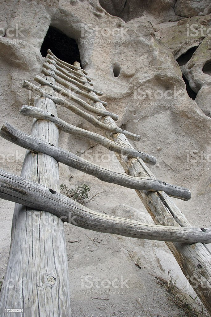 Wooden Ladder royalty-free stock photo