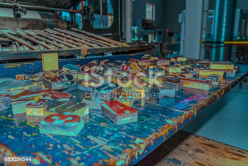 683035640 istock photo wooden letters on the table designer 683034544
