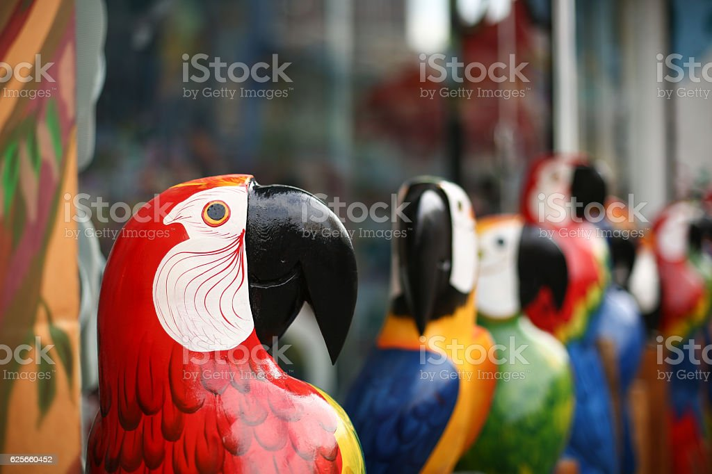 Wooden Macaw – Foto