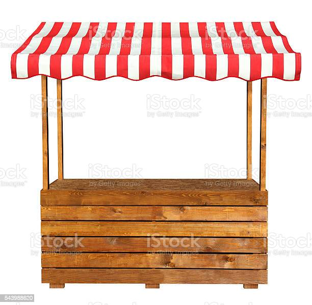 Wooden market stand stall with red white striped awning picture id543988620?b=1&k=6&m=543988620&s=612x612&h=rdtee48mlvc1bwucyteql2ce1jntapuq9y7rilx ito=