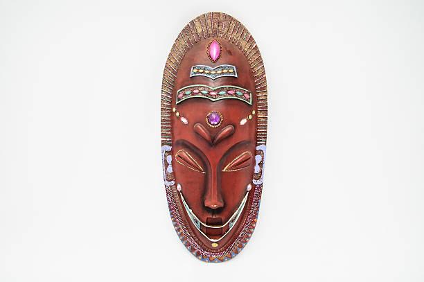 holz-maske - afrikanische masken stock-fotos und bilder
