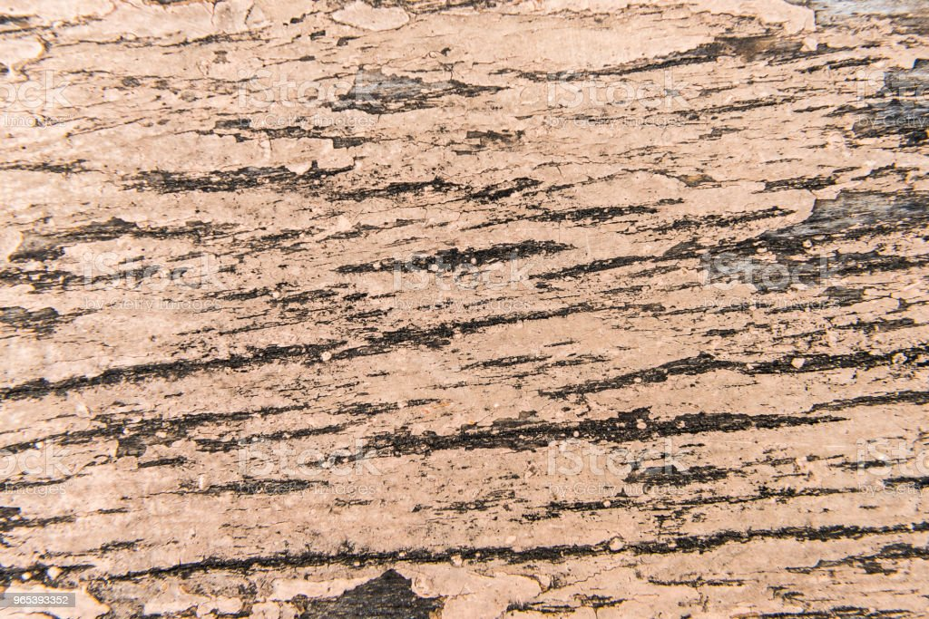 Wooden old surface with cracked paint royalty-free stock photo