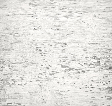 Wooden old white painted plank background