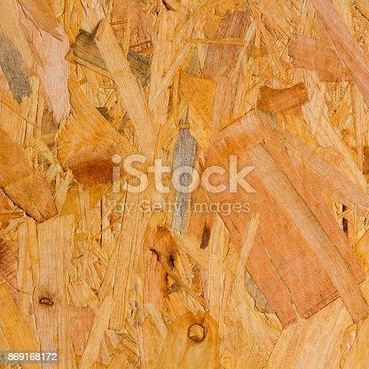 istock Wooden osb fibreboard panel texture background 869168172