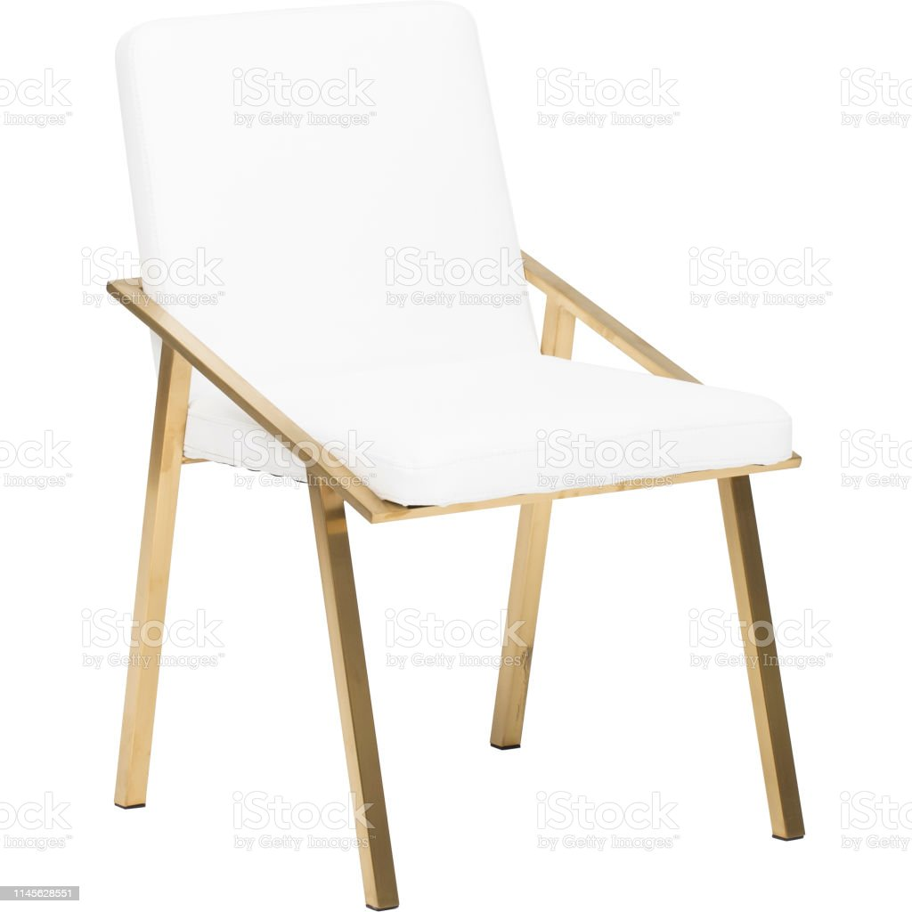 Wooden Padded Folding Chair Dining Chair Office Chair Stuck Chair Park City Sling Chair White Stock Photo Download Image Now Istock