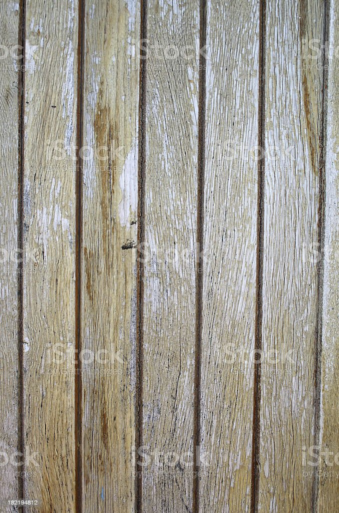 Wooden panel royalty-free stock photo