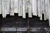 istock Wooden panels background 186867838