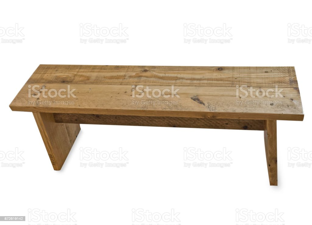 Stainless Steel Bathroom Vanity Cabinet, Wooden Picnic Table Pew Bench On White Background Stock Photo Download Image Now Istock