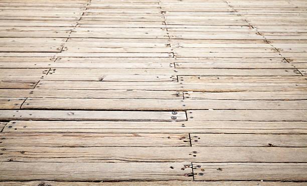 hölzerne pier hintergrund textur mit der perspektive - terrassen deck design stock-fotos und bilder