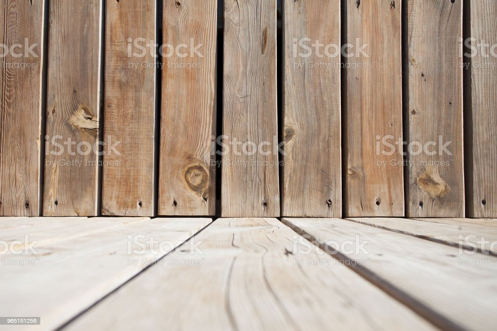 wooden plank background stage low angled view zbiór zdjęć royalty-free