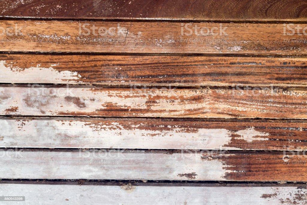 Grain De Planche En Bois Texturé à Fond Bureau Bois Rayé Close Up