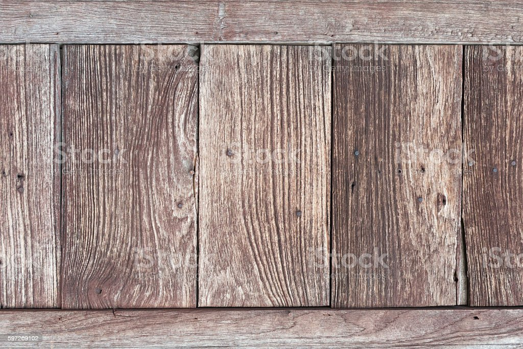Wooden plank useful as background. stock photo