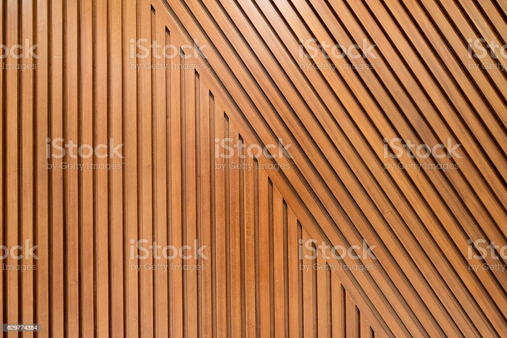 Wooden plank wall background stock photo