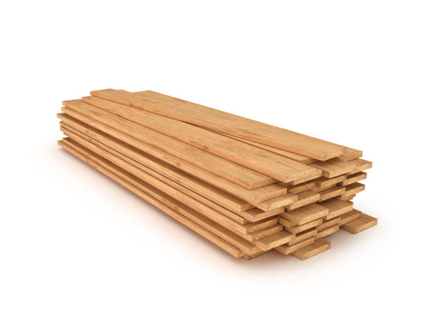 wooden planks isolated 3d illustration wooden planks isolated 3d illustration timber stock pictures, royalty-free photos & images