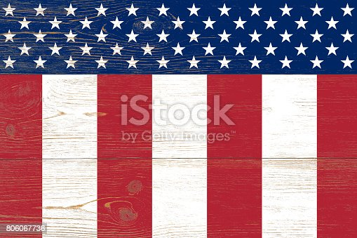 istock wooden planks painted us flag 806067736