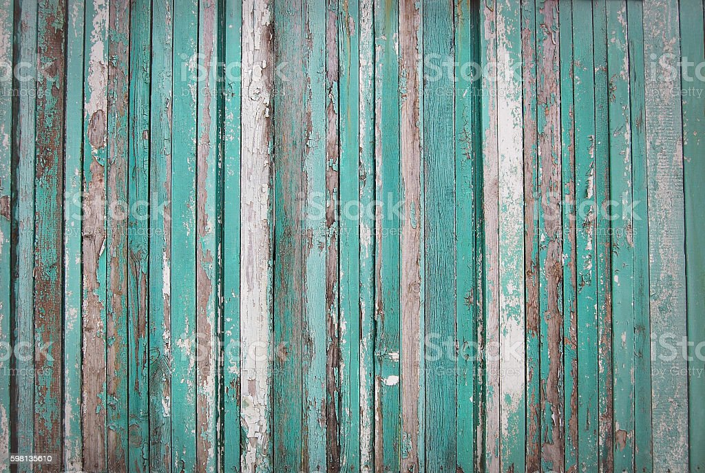 wooden planks, wood background, green, white, brown stock photo