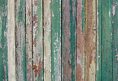 istock wooden planks, wood background, green, white 598253152