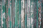 istock wooden planks, wood background, green, white 598253158