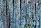 istock wooden planks, wood background, grey, blue 544963484