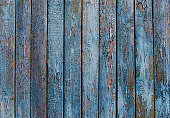 istock wooden planks, wood background, grey, blue 544963486