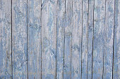 istock wooden planks, wood background, grey, blue 544963520