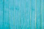 istock wooden planks, wooden background, blue 522878594