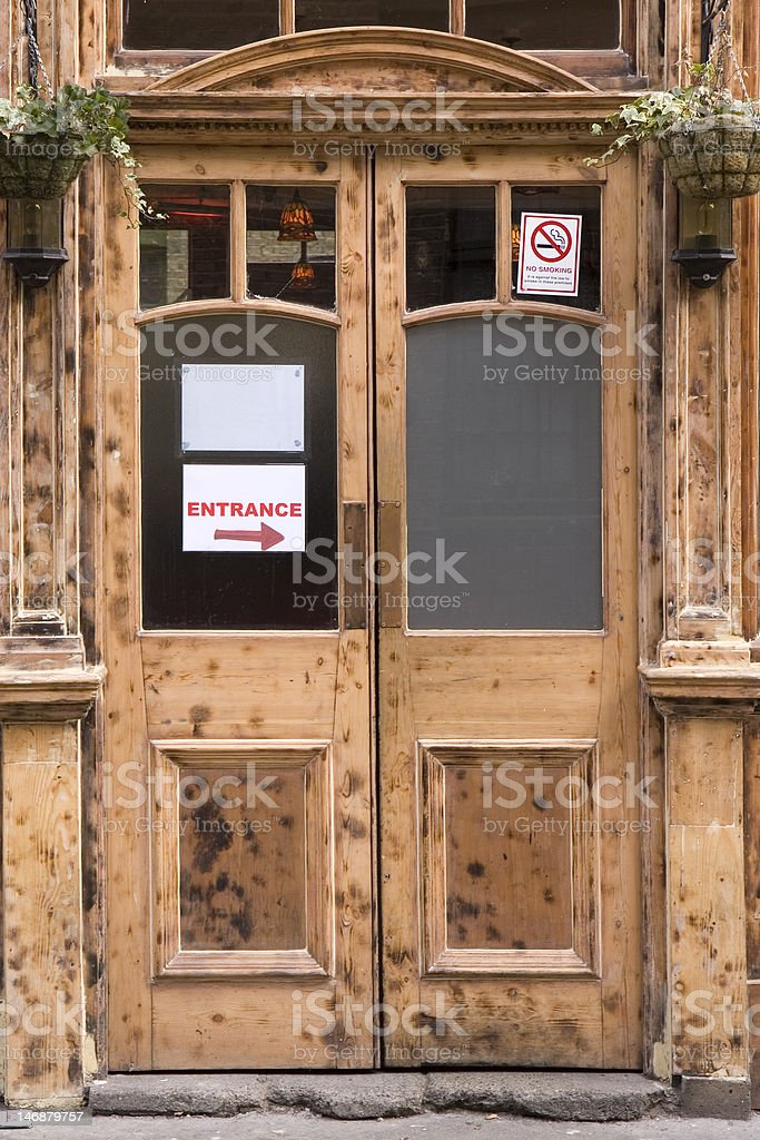 Wooden pub door royalty-free stock photo & Wooden Pub Door Stock Photo u0026 More Pictures of Bar - Drink ...