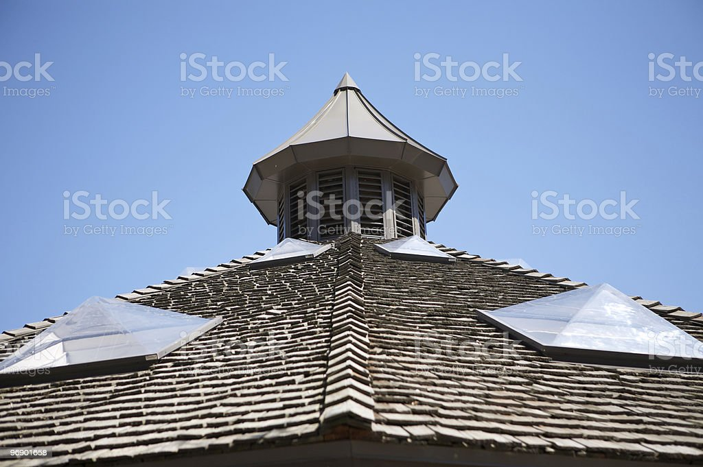Wooden Roof Architecture royalty-free stock photo
