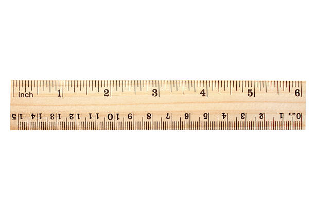 wooden ruler - ruler stock photos and pictures