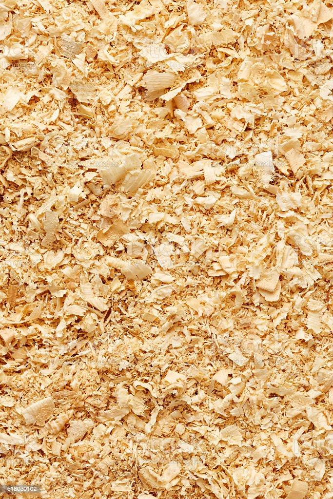 Wooden sawdust texture stock photo