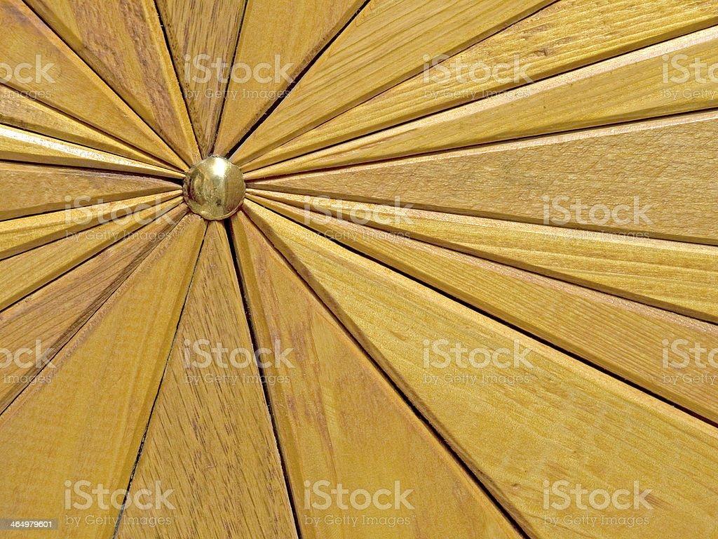 Wooden segments background. stock photo