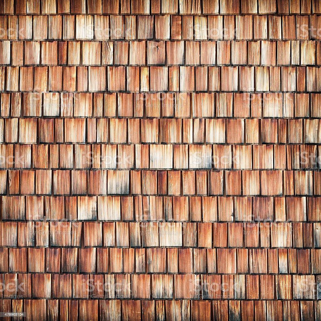 shingle en bois fond - Photo